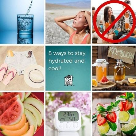8 Ways to Stay Hydrated and Keep Cool During a Heatwave
