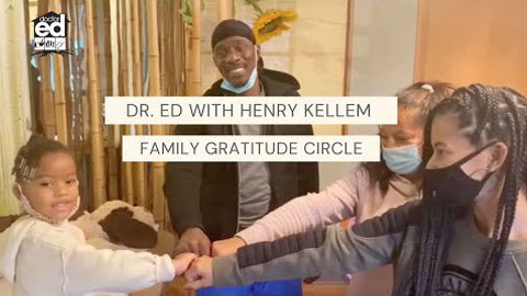 Dr. Ed with Henry Kellem Family Gratitude Circle